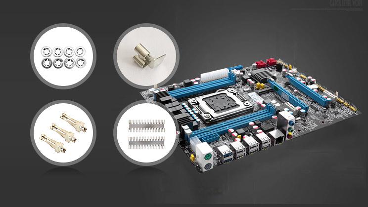 隆杰机电为某电子公司提供电子类冲压件