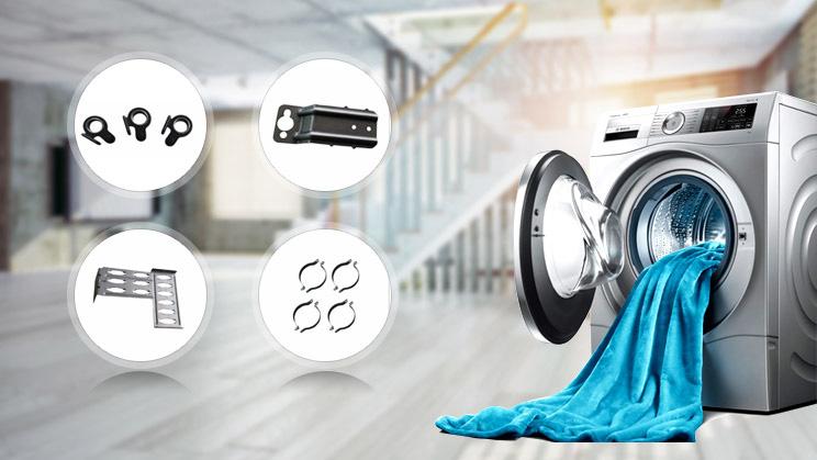 隆杰机电为某家用电器提供电器冲压件