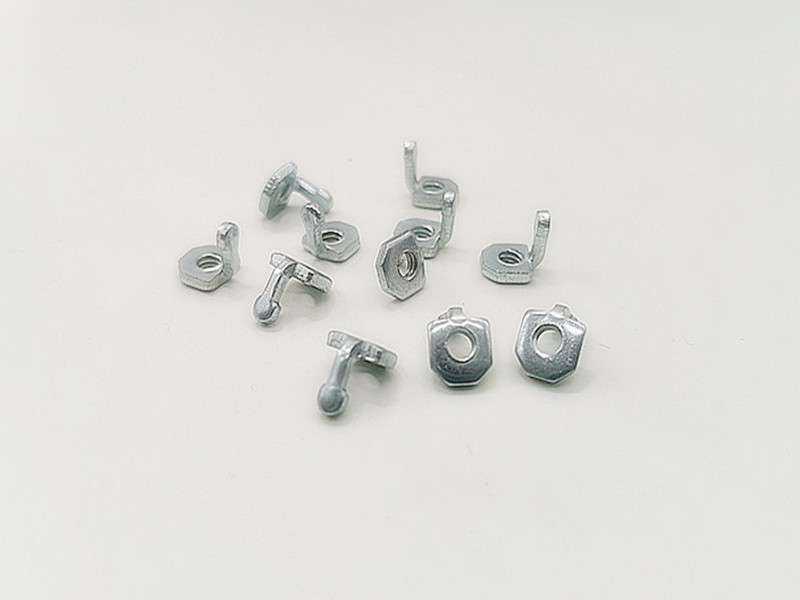 家用电器冲压件 螺纹块-1