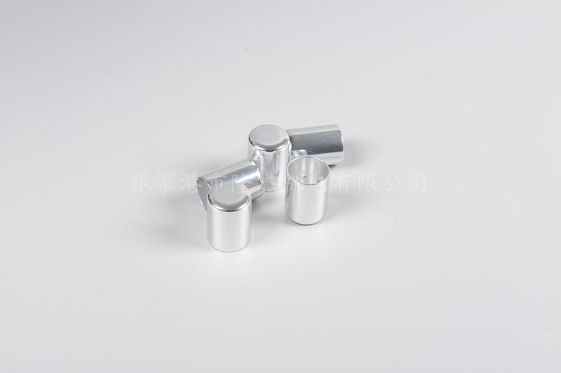铝冲压件 日光灯启动器外壳(带孔)